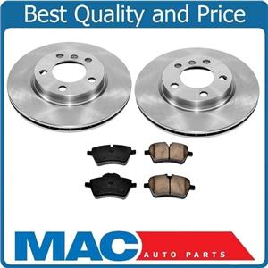 New Front Brake Rotors & Pads for Mini Cooper Countryman Base Non Turbo 11-16