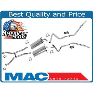 Muffler DUAL Exhaust System for Ford Crown Victoria Mercury Grand Marquis 98-02