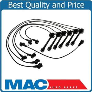 100% New Complete Spark Plug  Ignition Wire Set for Toyota Landcruiser 93-97