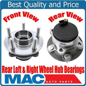 New REAR Left Right Wheel Hub Bearings Front Wheel Drive for Ford Fusion 13-17