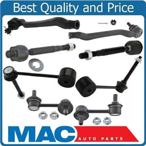 8 Pcs Kit Inner Outer Tie Rods Front & Rear Links for Lexus LS430 2001-2006