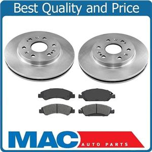 3pc 100% New FRONT Brake Rotors & Ceramic Pads for Chevrolet Tahoe Yukon 15-19