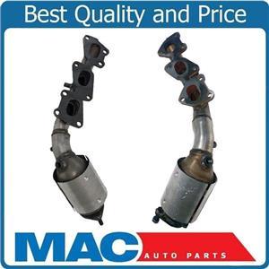 2- 100% New Front Manifold Converters for KIA Sorento 07-09 3.3L 3.8L USA