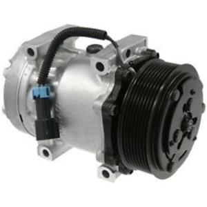 AC Compressor SD7H15 8 Groove (One Year Warranty) Reman 78567