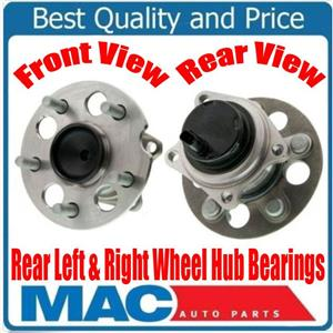 Rear Wheel Hub Bearings Front Wheel Drive Non ABS for Toyota Rav4 96-06