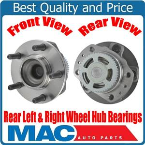 """New Rear Wheel Hub Bearings for Dogde Grand Voyager with 15"""" & 16"""" Rims ONLY"""