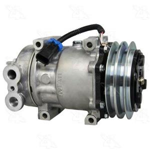 AC Compressor Sanden SD7H15 2 Groove (One Year Warranty) R158591