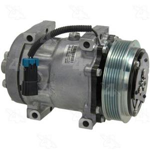 AC Compressor Sanden SD7H15 6 Groove (One Year Warranty) R58709