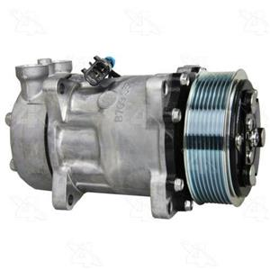 AC Compressor Sanden SD7H15 8 Groove (One Year Warranty) R158552