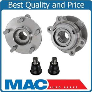 New Front Wheel Hub Bearings & Ball Joints for Nissan 04-09 Quest Murano 03-07