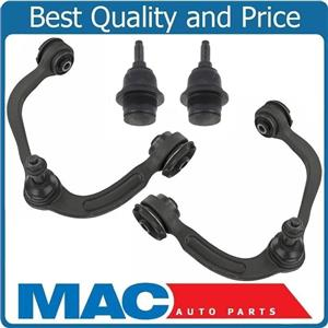 100% New Upper Control Arms & Lower Ball Joints for Ford F150 15-18 4pc Kit