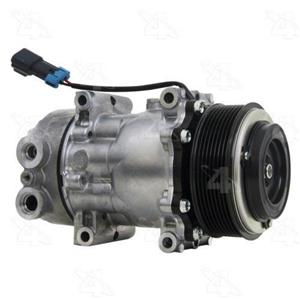 AC Compressor Sanden SD7H15 8 Groove (One Year Warranty) R168525