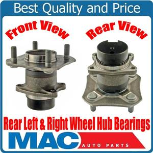 New REAR Left Right Wheel Hub Bearings for Nissan Versa With 4 Wheel ABS 07-12