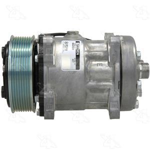AC Compressor for Freightliner FC70 FL50 FS65 M2 MB60 MB70 (1 Yr Warranty)R58703