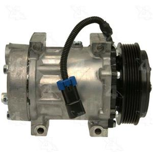 AC Compressor Sanden SD7H15 6 Groove (1 Year Warranty) R98598