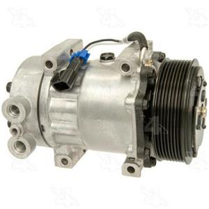 AC Compressor Sanden SD510HD 8 Groove (1 Year Warranty) R98572