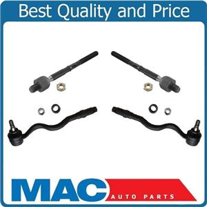 100% Brand New Inner & Outer Tie Rods for Bmw 323Ci 2.5L 2000 LIFETIME WARRANTY