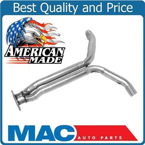 New MADE IN USA  After Converter Extension Y Pipe for Chevrolet Corvette 1985
