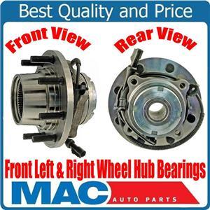 Front Wheel Hub Bearings Dual Rear Wheel 4x4 4 Wheel ABS for Ford F450 99-04