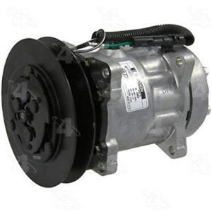 AC Compressor Four Seasons 68163 FLX7 Single Groove (1 Yr Warranty) Reman
