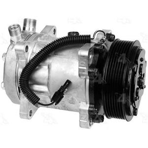 AC Compressor Four Seasons 58711 SD7H15 7 Groove (One Year Warranty)