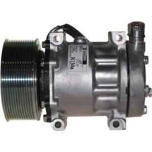 AC Compressor For Sanden 4078 4370 Heavy Duty Peterbilt Kenworth (1 Y W) R158533