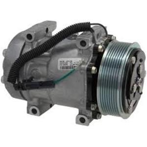 AC Compressor FLX7 fits Trucks w/Sanden Model 4310 4420 4028 (1YW) R68158