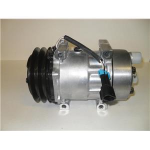 AC Compressor For Freightliner Sanden 4306 4428 (1 year Warranty) R 158554