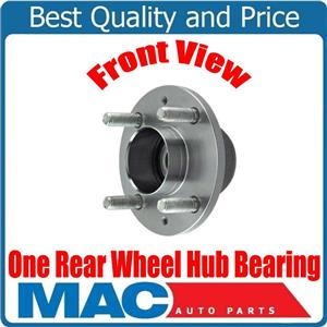 ONE 100% Rear New Wheel Hub Bearing for Chevrolet Aveo Without ABS 04-11 NO ABS