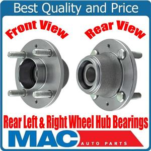 100% Rear Left & Right Wheel Hub Bearings for Chevrolet Aveo Without ABS 04-11