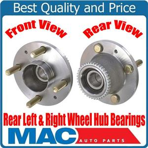 100% New Rear Left & Right Wheel Hub Bearings for Chevrolet Aveo With ABS 04-11