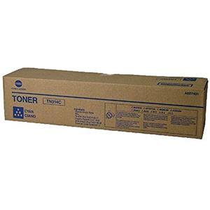 Konica Minolta TN314C A0D7431 Cyan Toner Cartridge 20K Pages Genuine
