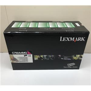 Lexmark Magenta Toner Cartridge C792 X792 C792A4MG