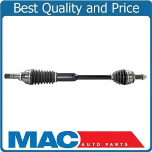 ONE 100% New Front HEAVY DUTY Complete Cv Shaft Axle for Subaru Forester 09-13