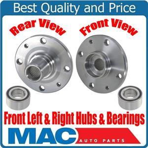 100% New Front Left & Right Hub And Wheel Bearing Repair Kit for Kia Rios 01-02