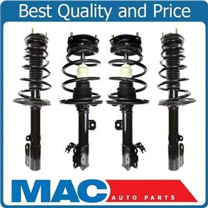 New Complete Coil Spring Struts for Toyota Camry 2.4L Hybrid 4Pc Kit 12-14