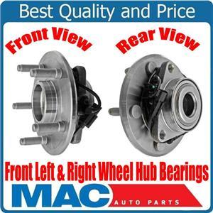 New Front Left & Right 5 Stud Standard Duty Wheel Hub Bearings RAM 1500 12-18