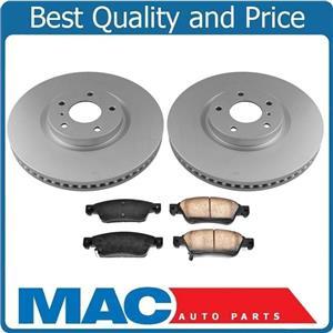 Front 330mm Disc Brake Rotors & Brake Pads for Infiniti Q60 14-15 330MM Rotors