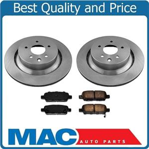 Rear 330mm Disc Brake Rotors & Brake Pads for Infiniti Q60 14-15 330MM Rotors