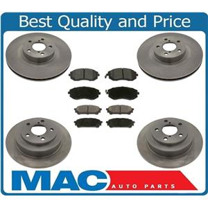 Front & Rear Rotors Brake Pads for Subaru Forester 2.5L 05-08