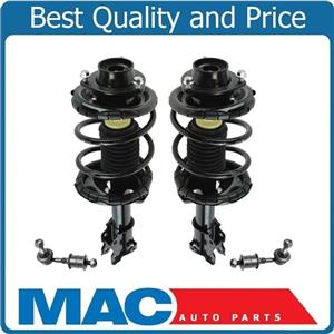 100% New Front Complete Struts Sway Bar Links for Nissan Altima 2.4L 2000-2001