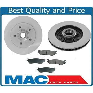 Fits 99 00 Ford F-150 Lighting 5.4L Supercharged 5 Stud 12MM Front Rotors & Pads
