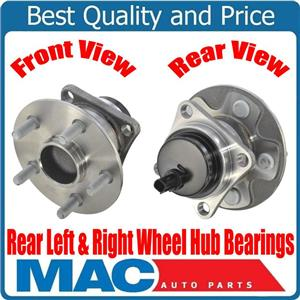 100% Brand New REAR Left & Right Wheel Hub Bearings for Toyota Corolla 09-19