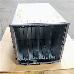 Dell PowerEdge M1000E Blade Chassis w/ 6x PSU 9x Fan 2x HR521 2x G722T
