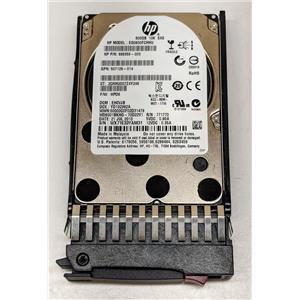 "HP 600GB 6G Dual Port 10K SAS 2.5"" SFF EG0600FCHHU 666355-003 507129-014"