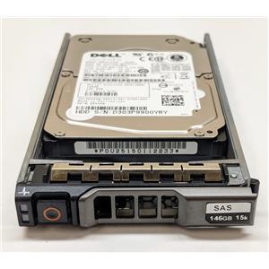 """Dell K532N Toshiba MBE2147RC 146GB 6Gbps 15K 2.5"""" SAS HDD w/ R-series Tray"""