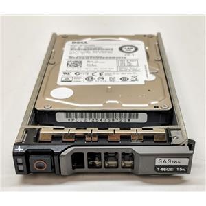 """Dell Toshiba 6DFD8 MK1401GRRB 146GB 15K 2.5"""" SAS HDD 6GB/s w/ R-Series Tray"""