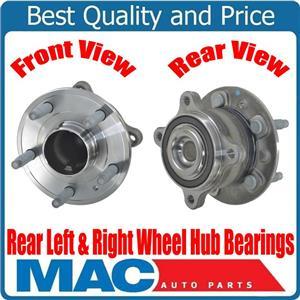 100% Brand New Left & Right Rear Wheel Hub Bearings for Chevrolet Cruze 10-15
