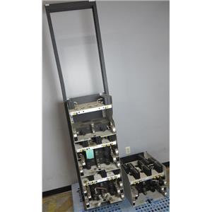 Lot of 4 Celwave 800Mhz Range Combiner 3x WJD860-7S ON RACK & WJD860-4S UNTESTED