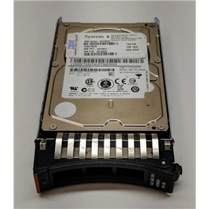 """IBM 146GB 15K 6Gbps 2.5"""" SAS Hot Plug 90Y8926 90Y8930 90Y8927 w/ Tray"""